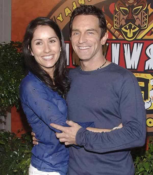 Image of Jeff Probst's dating with Julie Berry after Divorce from First Wife Shelly Wright