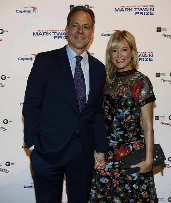 Image of Jeniffer Marie Brown with her husband Jake Tapper