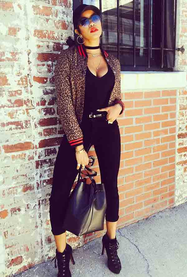 Image of Actor, LeToya Luckett height is 5 feet 7 inches