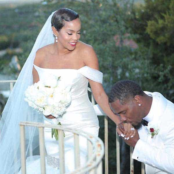 Image of LeToya Luckett with her husband Tommicus Walker