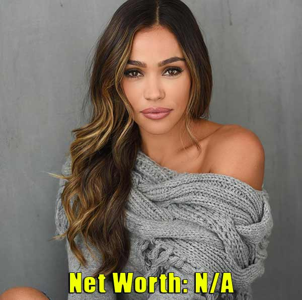 Image of October Gonzalez net worth is not available