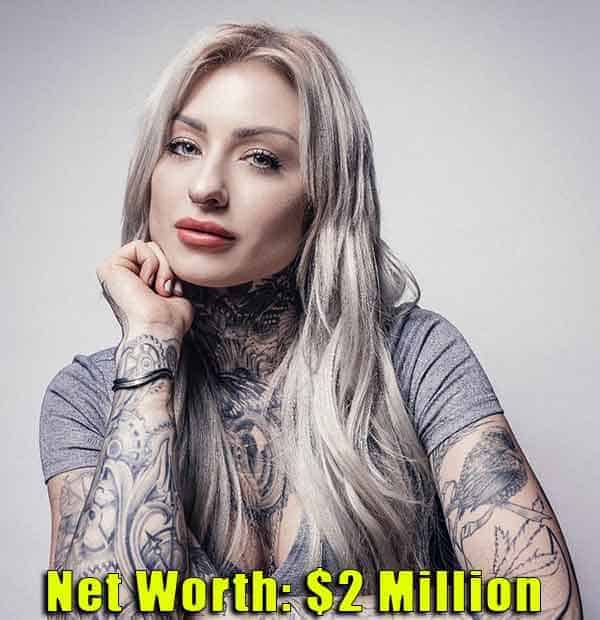 Image of TV Star, Ryan Ashley Malarkey net worth is $2 million