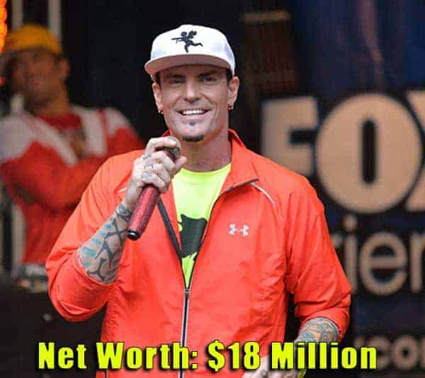 Image of Rapper, Vanilla Ice net worth is $18 million