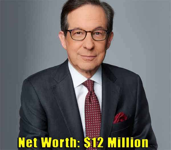 Image of Newsreader, Chris Wallace net worth is $12 million