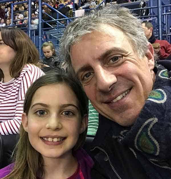 Image of Jason Plato with his daughter Alena