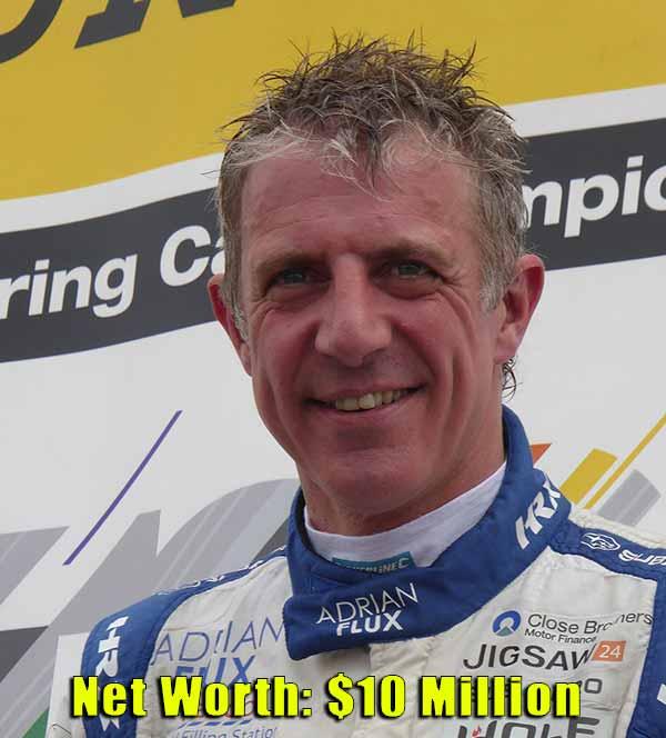 Image of Racing Driver, Jason Plato net worth is $10 million