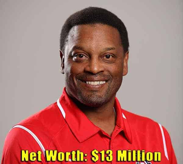Image of Football Coach, Kevin Sumlin net worth is $13 million