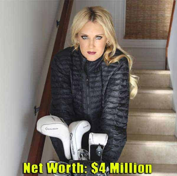 Image of American Professional Golfter, Natalie Gulbis net worth is $4 million