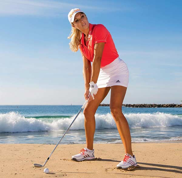 Image of Professional Golfer, Natalie Gulbis
