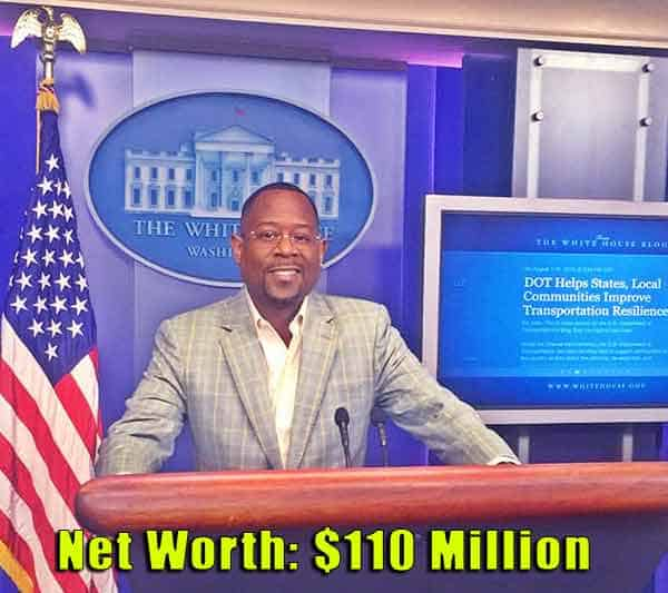 Image of Comedian, Martin Lawrence net worth is $110 million