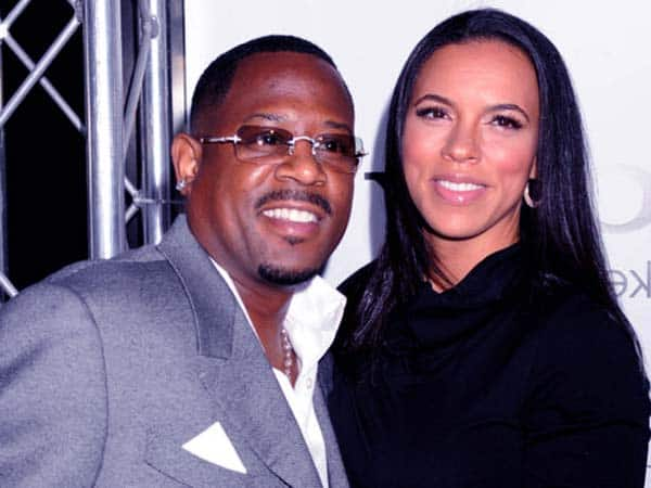 Image of Martin Lawrence with his ex-wife Shamicka Gibbs